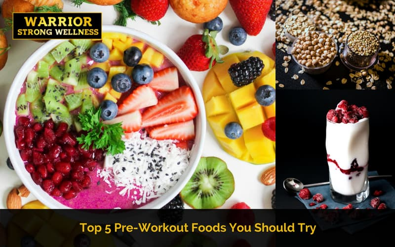 Top 5 Pre-Workout Foods you Should Try