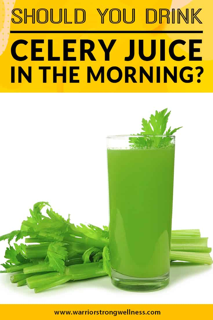 should-you-drink-celery-juice-in-the-morning
